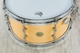 "Gretsch USA Custom Limited Edition Round Badge Snare Drum, Satin Millennium Maple Shell (7"" x 14"")"