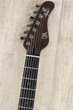 Mayones Aquila FM 6 Guitar, Flame Maple Top, Wenge Neck, Ebony Fretboard, Jeans Black 2Tone Blue Burst Gloss1