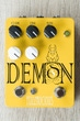 Fuzzrocious The Demon Overdrive Guitar Effects Pedal, Octave Jawn Mod - Yellow