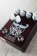 Fuzzrocious Grey Stache Fuzz Guitar Effects Pedal, Octave Jawn Mod - Black Cherry