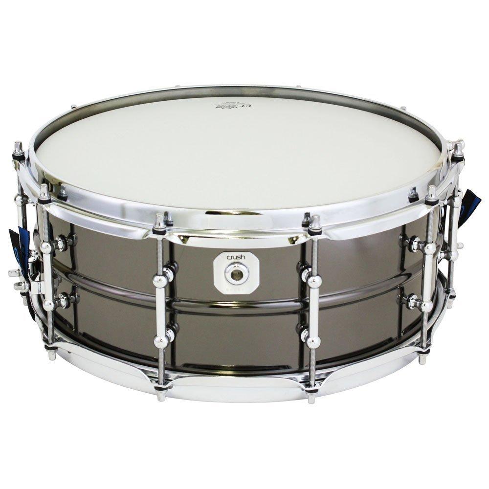 pitbull audio crush bms14x55n beaded metal snare drum steel nickel finish 5 5 x 14. Black Bedroom Furniture Sets. Home Design Ideas