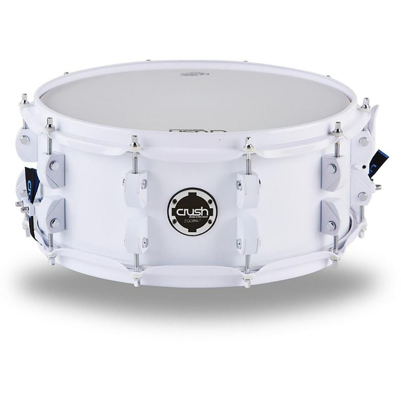 "Crush CCB13X7901 Chameleon Complete Snare Drum - White (7"" x 13"")"