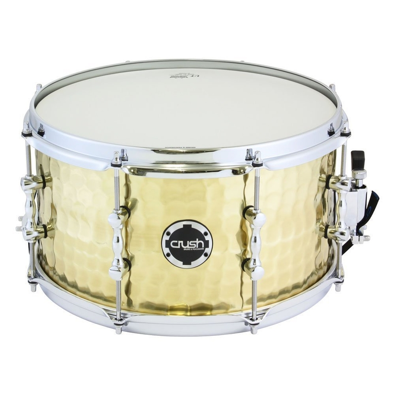 "Crush HHS13X7B Hand Hammered Snare Drum - Brass (7"" x 13"")"