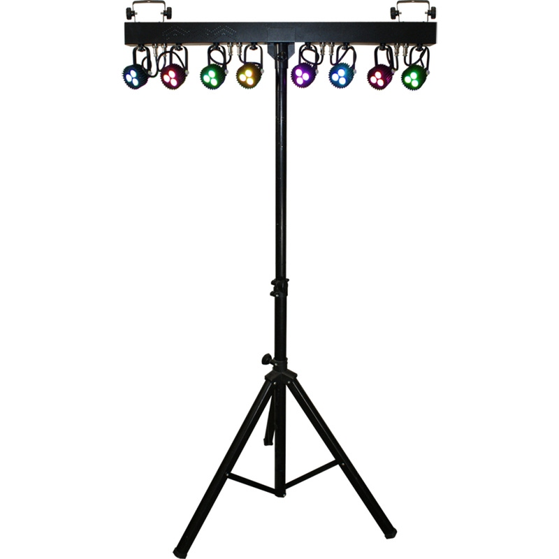 Blizzard Lighting Weather System RGBAW 8 Fixture LED Lighting Effect Bar