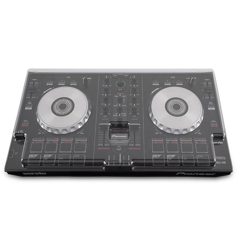 Mixware Decksaver LE Cover for Pioneer DDJ-SB3, DDJ-SB2, and DDJ-RB Controllers