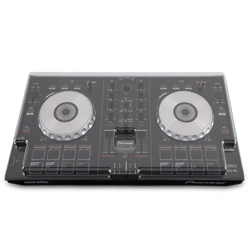 Mixware Decksaver LE Cover for Pioneer DDJ-SB3, DDJ-SB2, and DDJ-RB Controllers