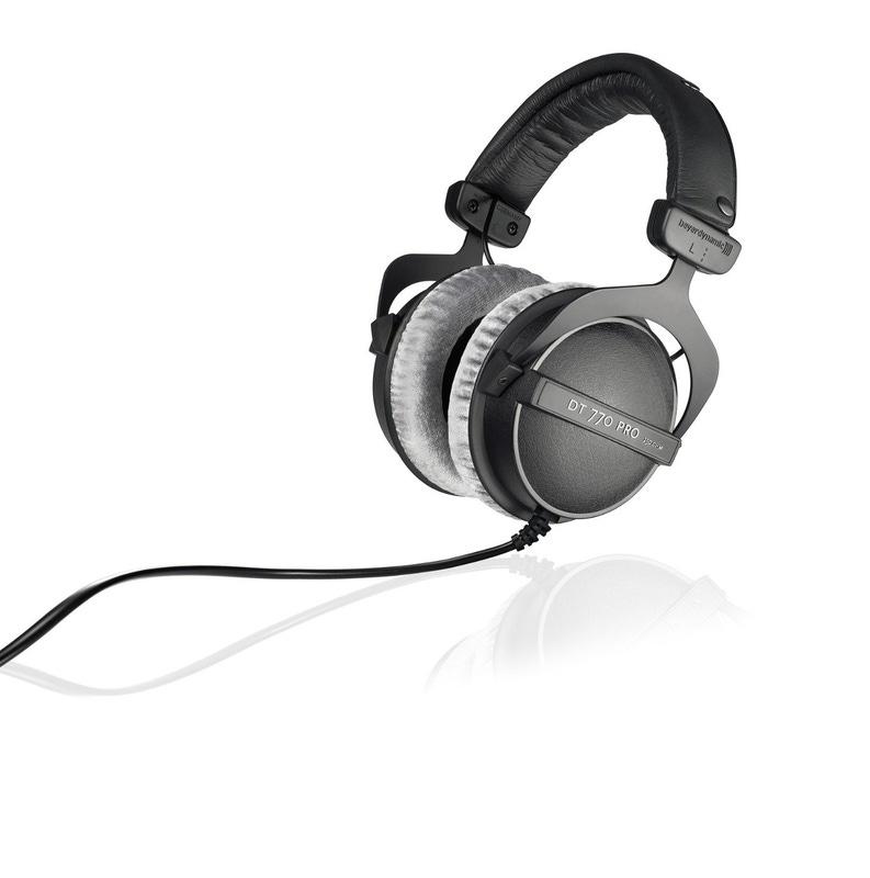 Beyerdynamic DT 770 PRO Headphones (250 ohms)