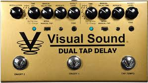Visual Sound Dual Tap Delay V3 Series 9VDC Power Supply Guitar Pedal