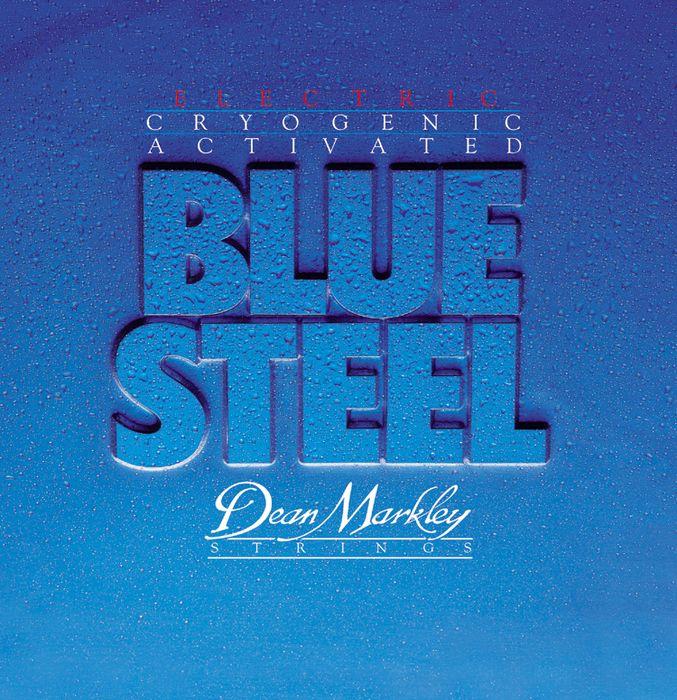 Dean Markley 2554 Blue Steel Custom Light Electric Guitar Strings 9 - 46