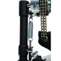 DW Drum Workshop DWCP9000XF 9000 Series Single Kick Bass Drum Pedal, Extended Footboard