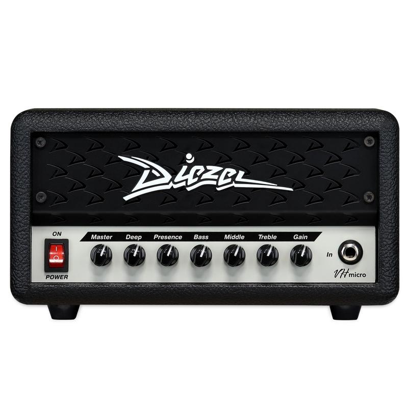Diezel VH-Micro Compact 30-Watt Guitar Amp Head w/ Deep and Presence Controls