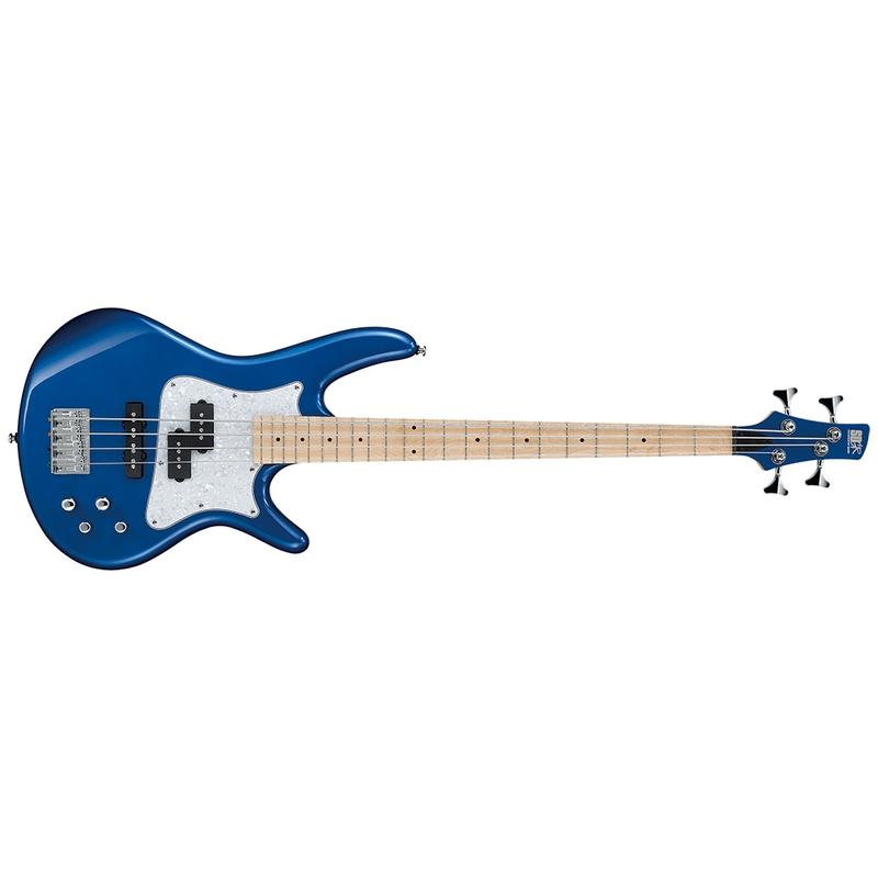 Ibanez SRMD200 Electric Bass Guitar, Sapphire Blue Metallic
