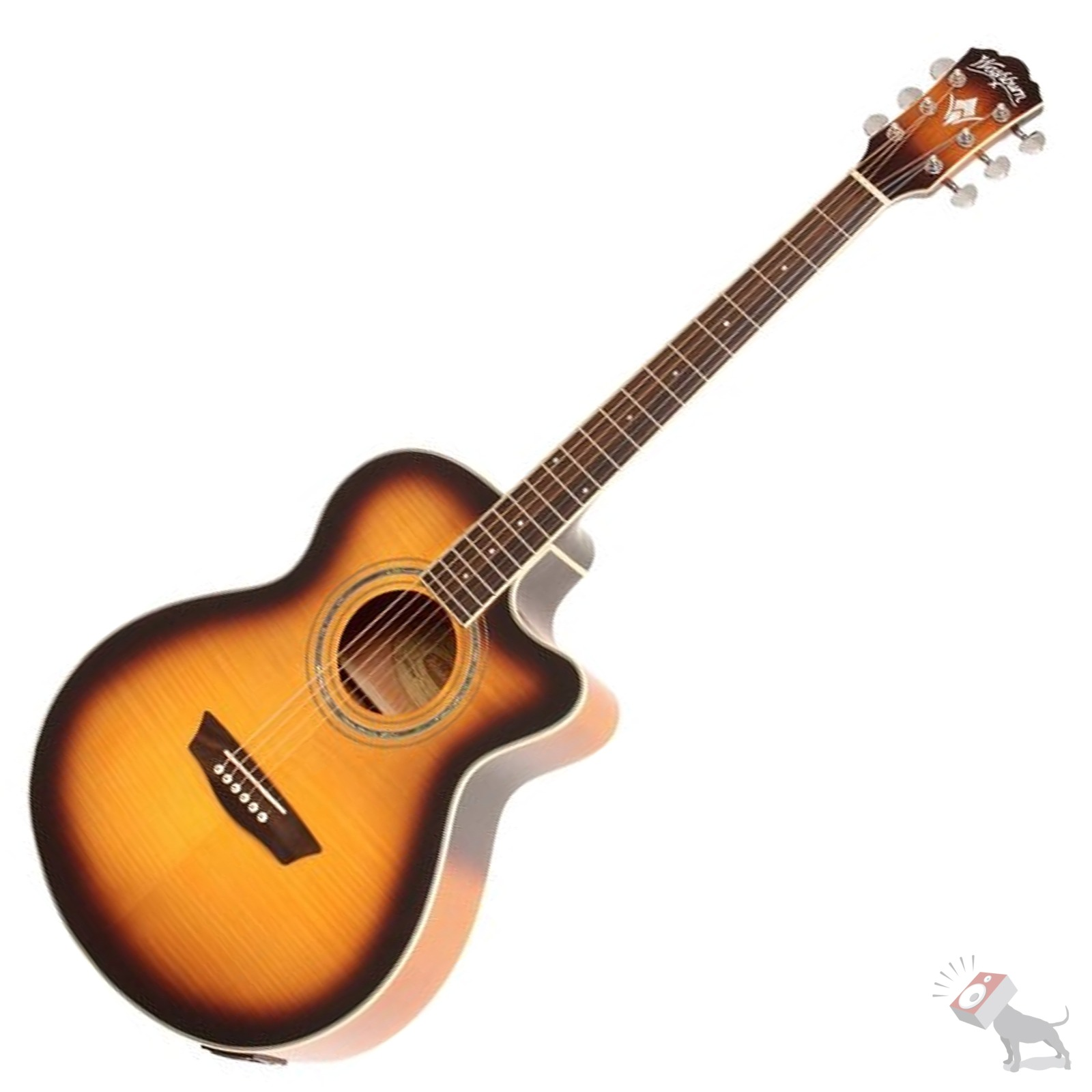 washburn ea15 atb festival series acoustic electric tobacco sunburst guitar eq ebay. Black Bedroom Furniture Sets. Home Design Ideas
