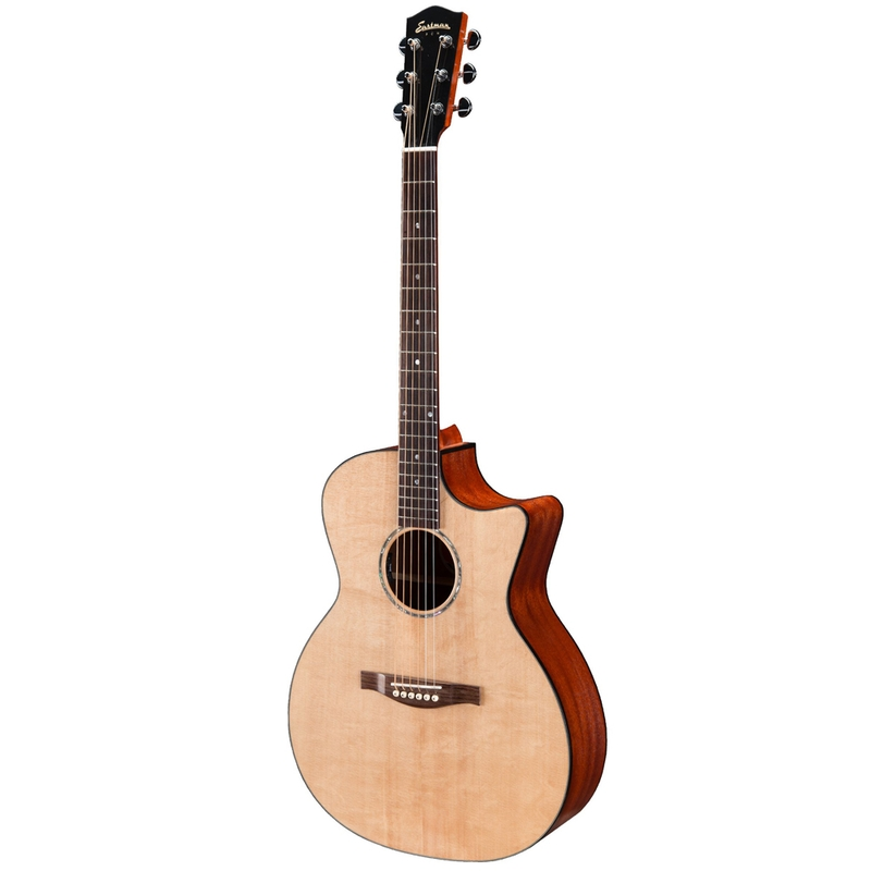 Eastman PCH1-GACE Acoustic Electric Guitar, Sapele Back & Sides, Solid Sitka Spruce Top