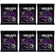 6-Pack Ernie Ball 2720 Cobalt Power Slinky Electric Guitar Strings (11-48)