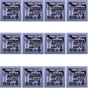12-Pack Ernie Ball 2839 6-string Baritone Slinky Electric Guitar Strings with Small Ball End 29 5/8 Scale (13-72)