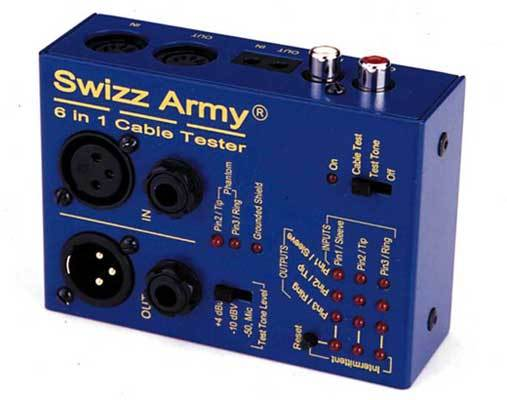 Ebtech Swizz Army Cable Tester