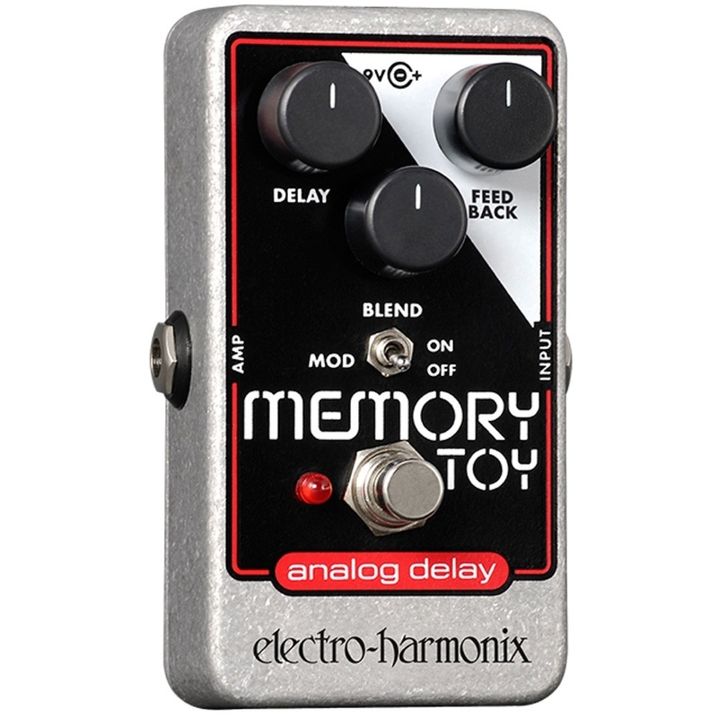 Electro-Harmonix Memory Toy Analog Echo Chorus Delay Nano Guitar Effects Pedal