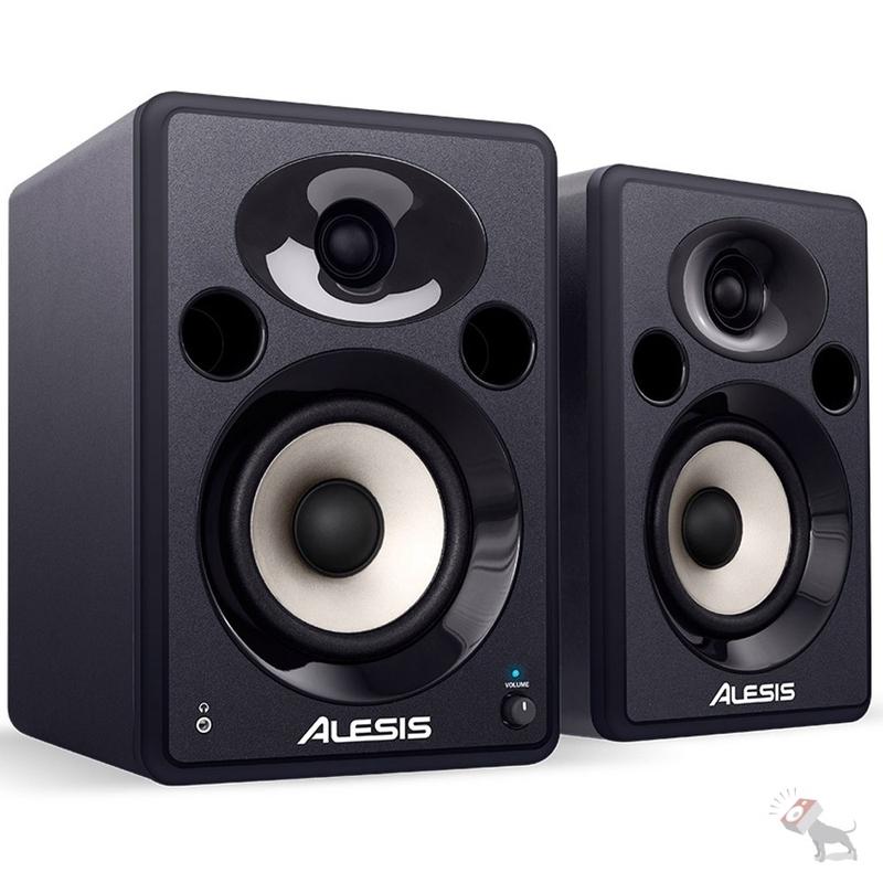 Alesis Elevate 5 Powered Desktop Active Studio Speaker Pair