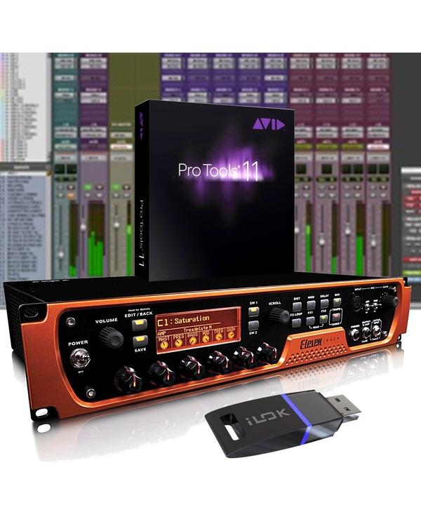 Avid Eleven Rack Guitar Multi Effects Processor Recording Interface & Pro Tools
