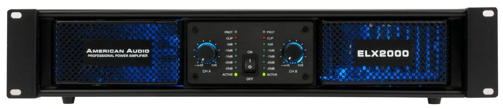 American Audio ELX-2000 Power Amplifier
