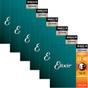 6 sets 11525 Elixir Strings Mandolin Strings Medium,Acoustic NANOWEB Coating 11-40