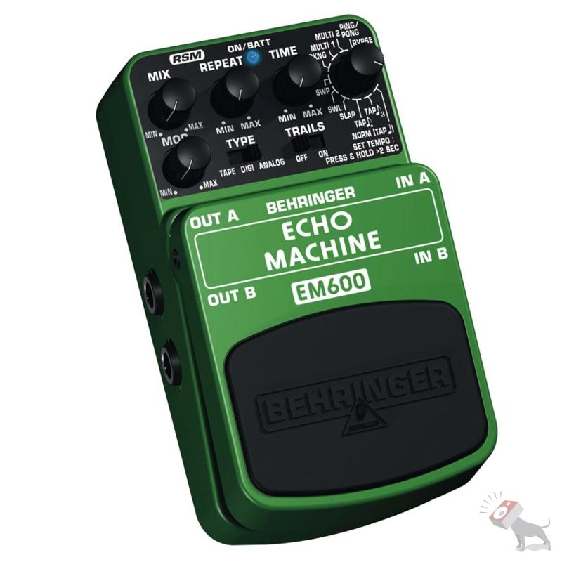 Behringer EM600 Ultimate Echo Modeling Effects Pedal