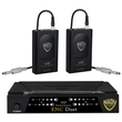 Nady ENC DUET Wireless Dual Channel Instrument / Guitar System; Band B/D