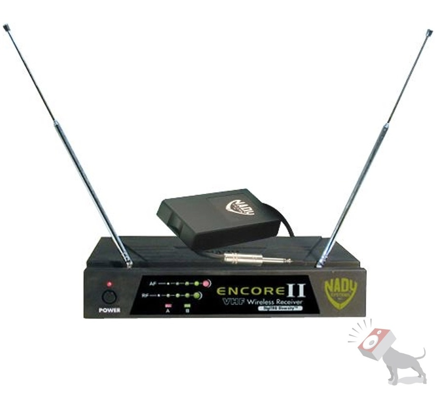 Nady Encore 2 II GT Wireless Instrument System Guitar/Bass WLT/WGT Channel F