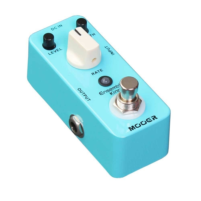 Mooer Ensemble King analog chorus true bypass effects guitar pedal