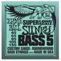 Ernie Ball 2850 5-String Slinky Super Long Scale Electric Bass Strings (45-130)