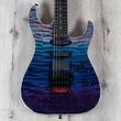 ESP USA M-III FR Guitar, EMG Pickups, Ebony Fretboard, Purple Haze