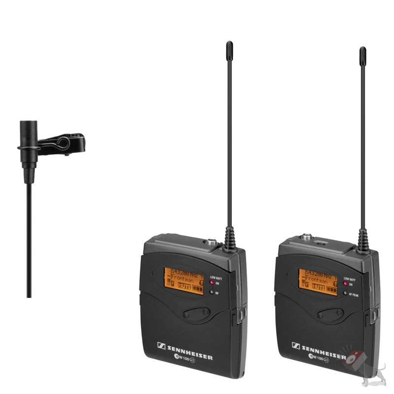 Sennheiser EW 112-P G3 Wireless Portable Lavalier Microphone Set EW112P Band G (566-608 MHz)