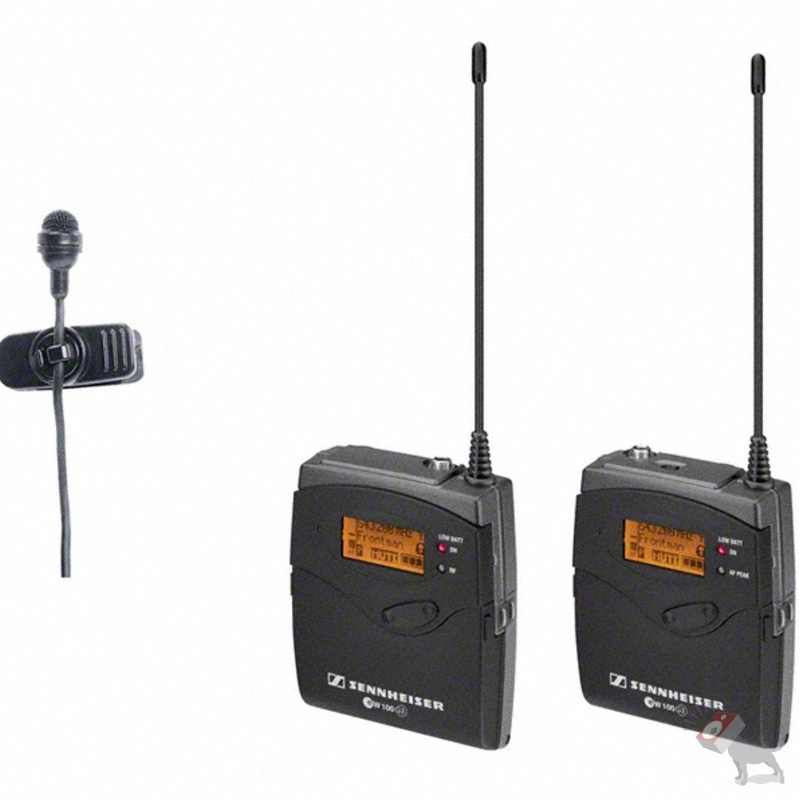 Sennheiser EW 122P G3 Lav Microphone Wireless System Clip-on Camera Mic (Band A: 516-558 MHz)