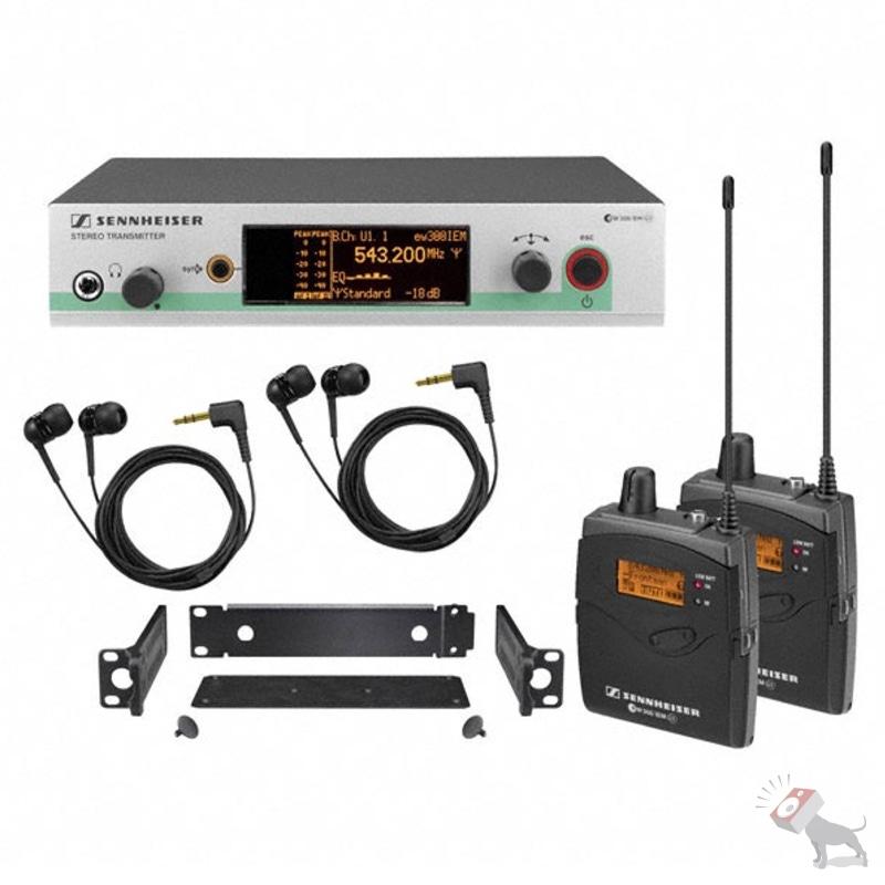Sennheiser ew 300 2IEM G3 A In-Ear Wireless Monitor System A Band