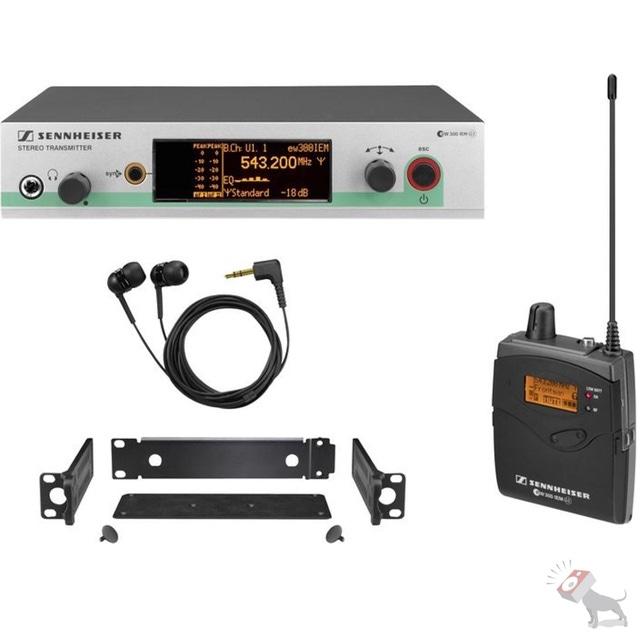 Sennheiser ew 300 IEM G3 A In-Ear Wireless Monitor System EW300IEMG3 A-Band