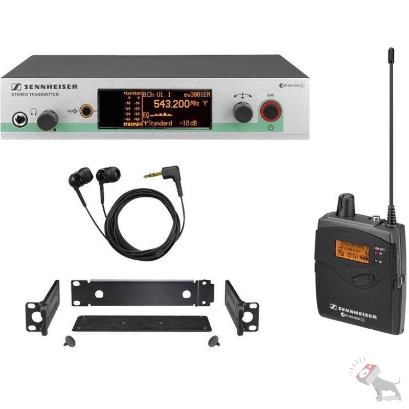Sennheiser ew 300 IEM G3 B In-Ear Wireless Monitor System EW300IEMG3 B-Band
