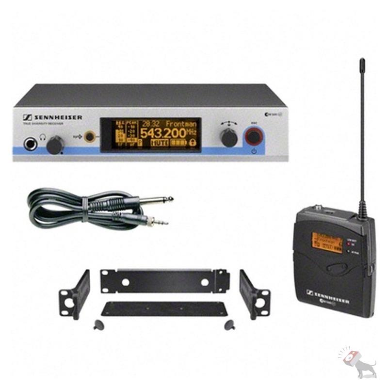 Sennheiser EW 572 G3 Pro Wireless Instrument Set (Band A)