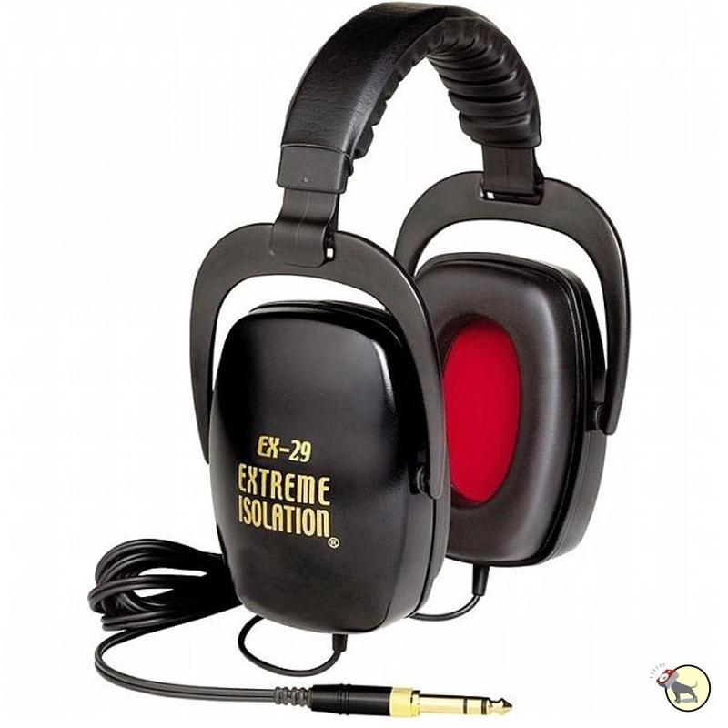 Direct Sound EX-29 Passive Noise Isolation Studio Headphones (Black)