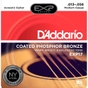 D'Addario EXP17 Coated Phosphor Acoustic Guitar Strings, Medium (13-56)