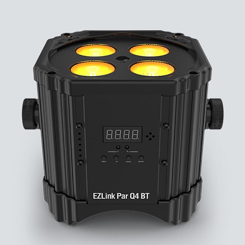 Chauvet DJ EZLink Par Q4 BT RGBA Quad Color Par Fixture Light Battery Powered Bluetooth