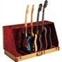 Fender Studio 7 Standard Guitar Stand Case Stand in Tweed (Holds 7 Guitars)