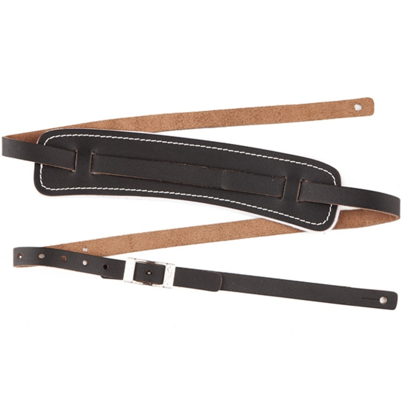 Fender Standard Original Vintage Style Leather Guitar Bass Strap 1