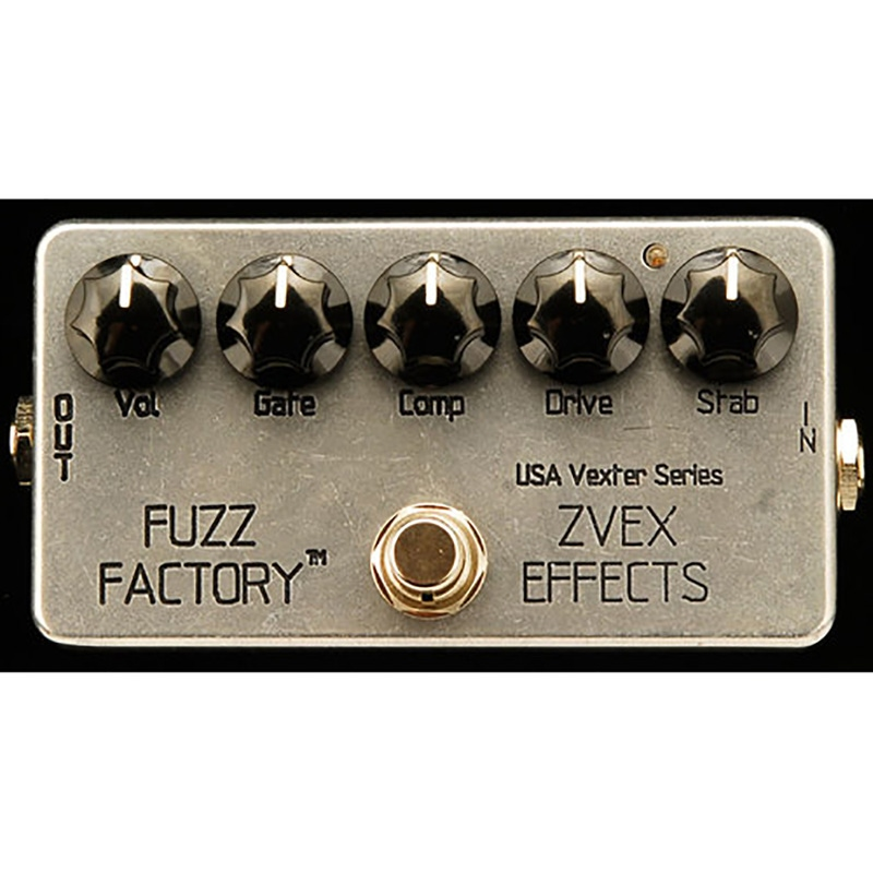 pitbull audio zvex usa vexter series fuzz factory fuzz guitar effect pedal. Black Bedroom Furniture Sets. Home Design Ideas