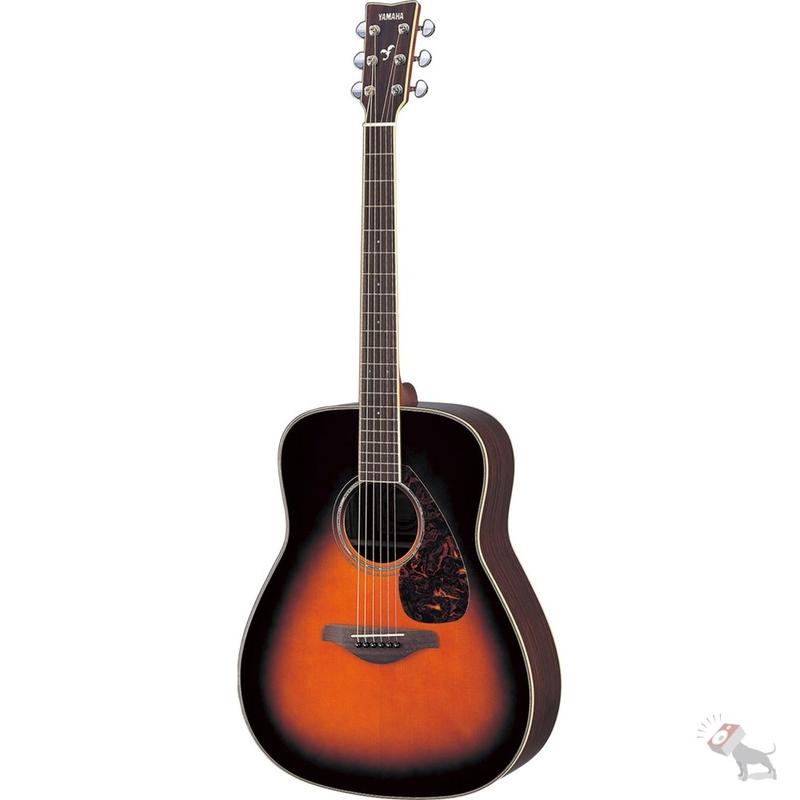 Yamaha FG730S Acoustic Guitar (Tobacco Sunburst)
