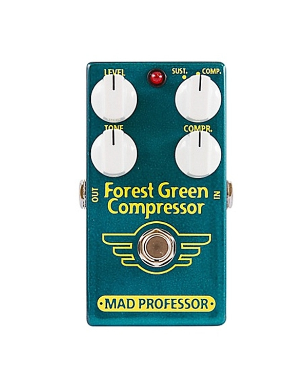 Mad Professor Forest Green Compressor/ Sustainer Guitar Effects Pedal