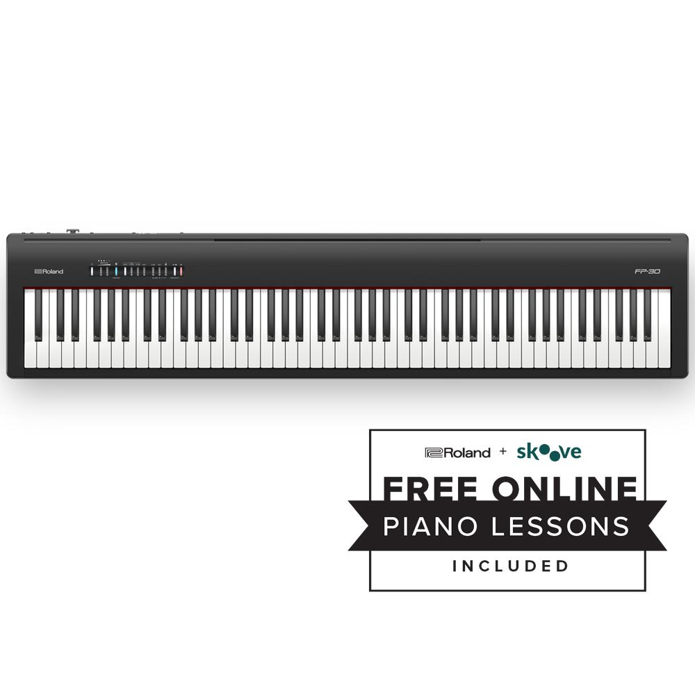 Roland Fp 30 88 Key Digital Piano Black