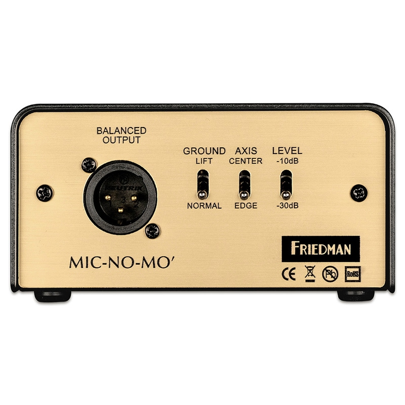 Friedman Amplification Mic-No-Mo Passive Guitar Cabinet Emulated DI Box
