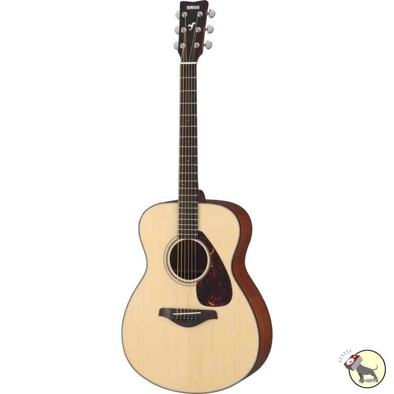 Yamaha FS700S Concert Body Acoustic Guitar (Natural)