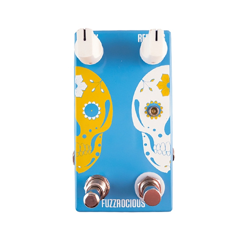 Fuzzrocious Pedals Afterlife V2 Reverb Guitar Effects Pedal - Blue